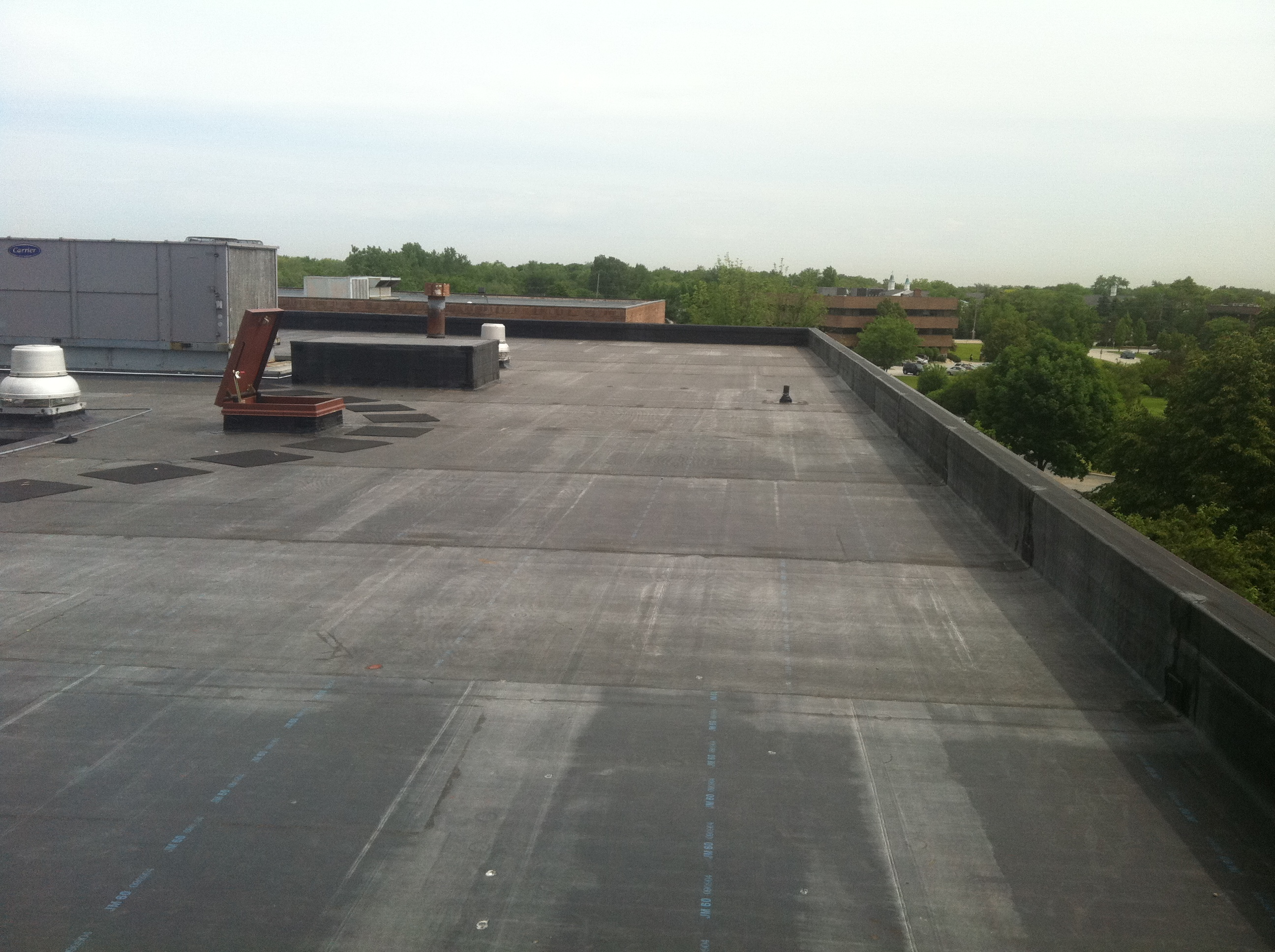 Epdm Roof System Active Roofing